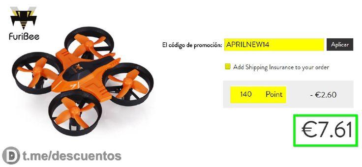 Drone FuriBee F36 disponible por sólo 761 - http://ift.tt/2qgzu7G