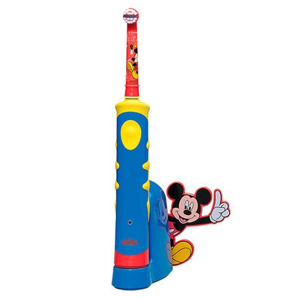 Periuta de dinti electrica Mickey Mouse special realizata pentru copii. Periuta pentru copii are 16 melodii ce se schimba la fiecare minut, pentru ca spalatul pe dinti sa fie o distractie