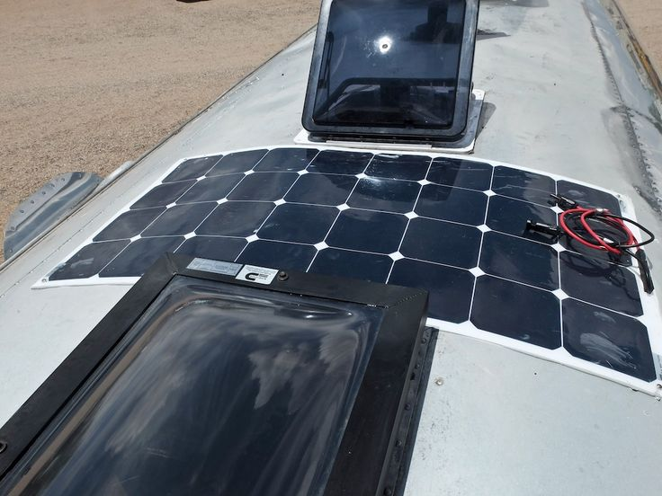 A Do-it-Yourself Airstream Solar Installation with Go Power! Solar Flex Panels | The Snowmads