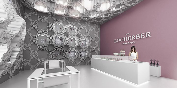 Concept Store Locherber Milano di Vanessa Todaro e Francesco Lipari Il primo negozio interamente stampato in 3D.