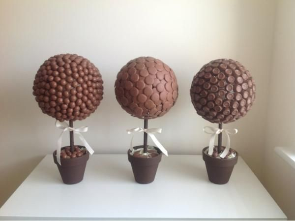Sweet chocolate trees