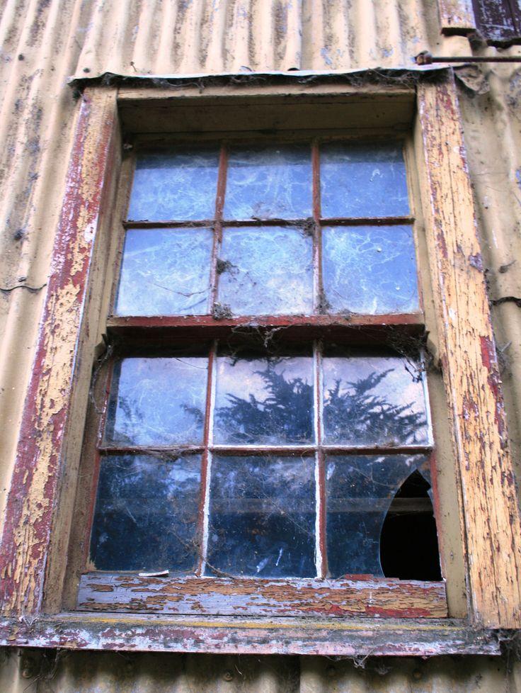 Old wool shed window. New Zealand. www.cosytoes.co.nz