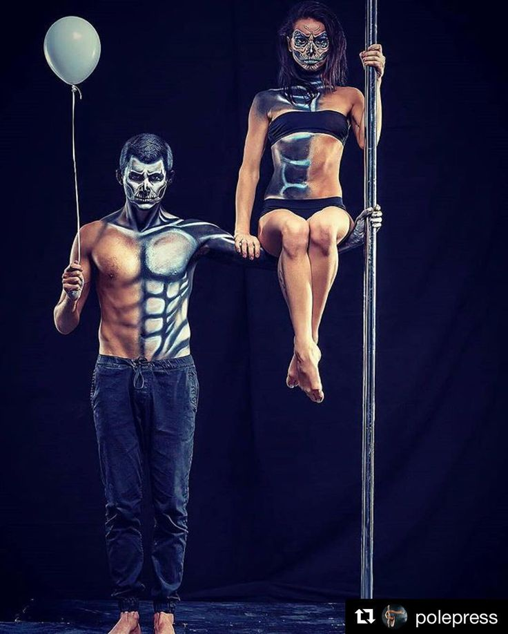 James and I could do this! A perfect image to start off the best month of the year! Thanks for the awesome pole class this morning everyone!! Get ready for some great themed costume classes!!