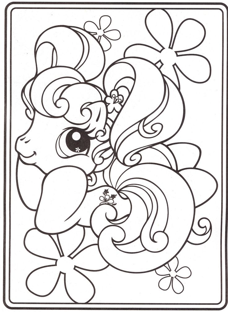 My Little Pony Coloring Pages 18