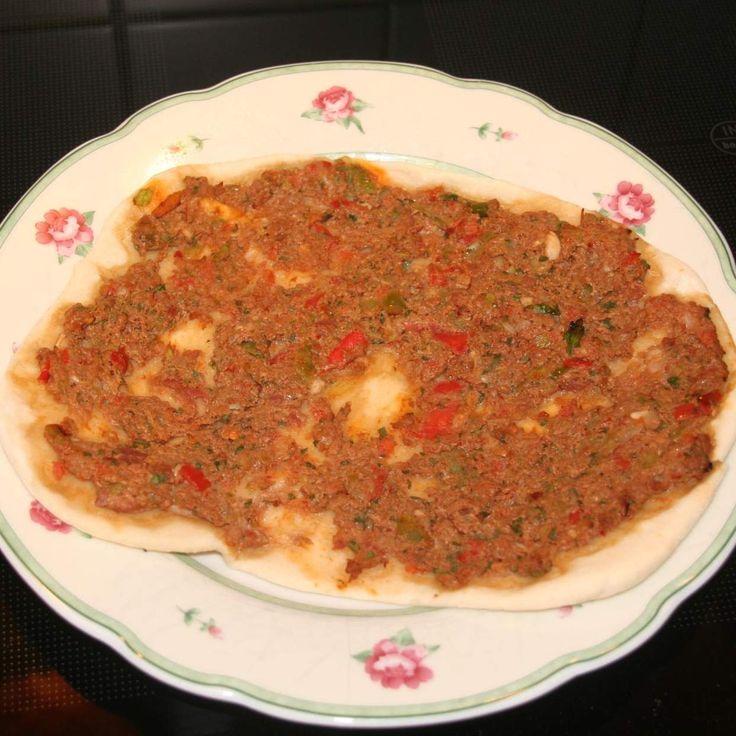 Rezept Lahmacun von Ahmet von Sternchen2807 - Rezept der Kategorie Hauptgerichte mit Fleisch