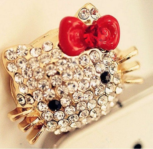 Hello Kitty Diamante Dust Plug