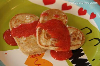Valentine Breakfast Surprise
