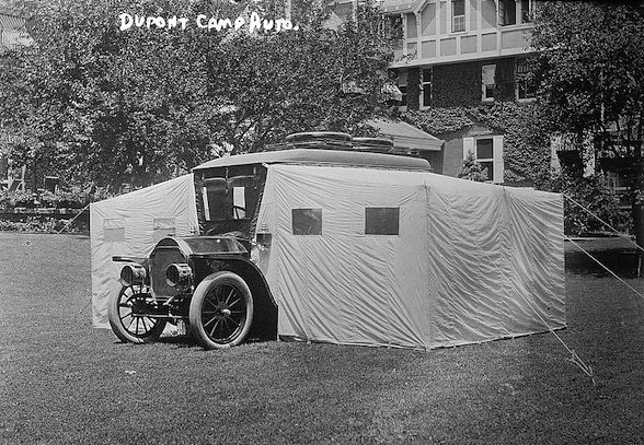 Travel Nostalgia ~ The 1910 Stoddard-Dayton Camping Car | The Roaming Boomers
