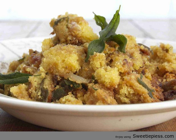 Miss Robbie shares her Cornbread Dressing Recipe-http://sweetiepiess.com/miss-robbie-shares-her-cornbread-dressing-recipe/#