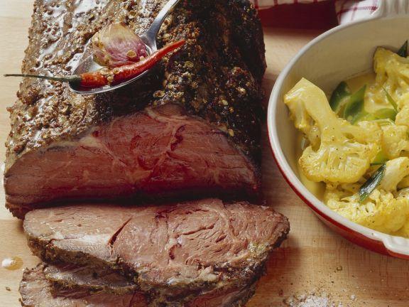 Rib-Eye-Roast mit Koriander und Anis dazu Blumenkohl ist ein Rezept mit frischen Zutaten aus der Kategorie Rind. Probieren Sie dieses und weitere Rezepte von EAT SMARTER!