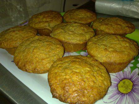 Jablečno - banánové muffiny