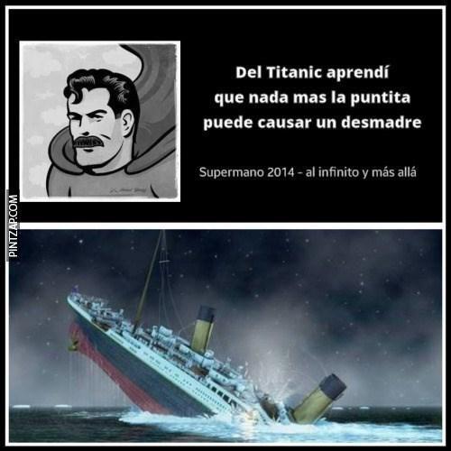 Del titanic aprendí...