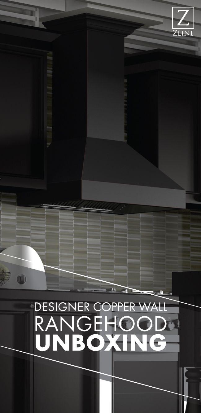 Designer Copper Wall Range Hood Unboxing Range Hood Copper Wall Diy Installation