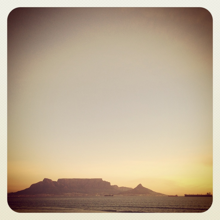 Cape Town... Table Mountain