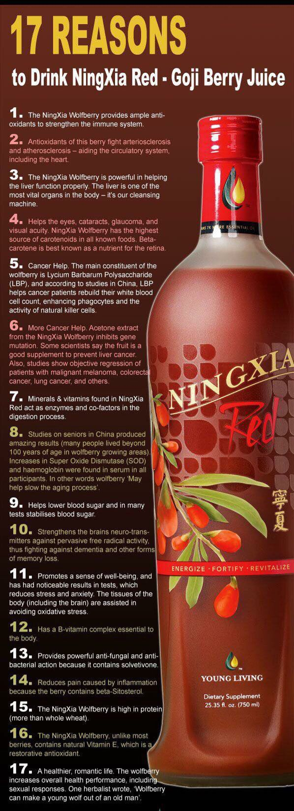 Sign uphereto start enjoying the many benefits from Young https://www.youngliving.com/vo/#/signup/start?sponsorid=3371890&enrollerid=3371890&isocountrycode=US&isolanguagecode=en&type=member Living'sNingXia Red!