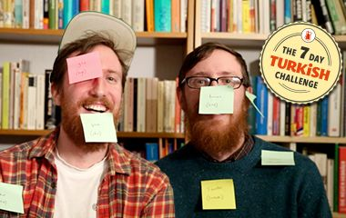 Twins Learn A Language In A Week: The 7 Day Turkish Challenge Re-pinned by #Europass