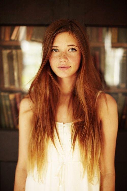 Redhead / Ombre hair |...