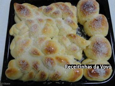 Receita Pão doce (massa mole)