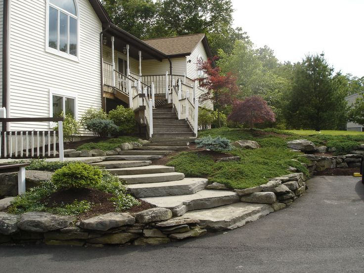 15 best images about large slab stone staircases on for Landscaping rocks pinellas county
