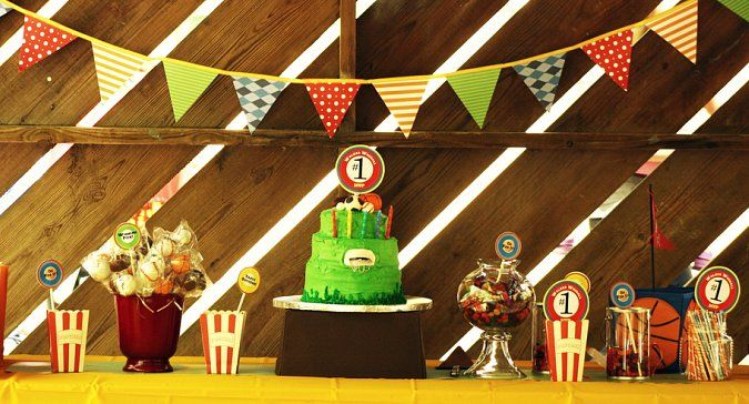 Sports theme birthday: Sports Party, Party'S, Sports Birthday, Birthday Parties, Boy, Party Ideas, Birthday Party, Birthday Ideas, Kid
