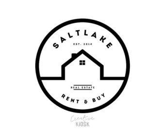 Simple Barn Logo. Shop Logo. Real Estate Business by CreativeKiosk