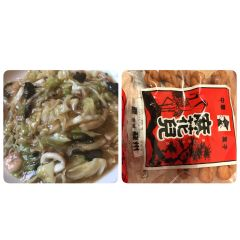 赤坂の福寿飯店でランチミーティングお腹いっぱいになれる皿うどん 密かに好きなのは店内で売っている中華お菓子よりより でも硬いので歯が丈夫な方のみオススメです  tags[福岡県]