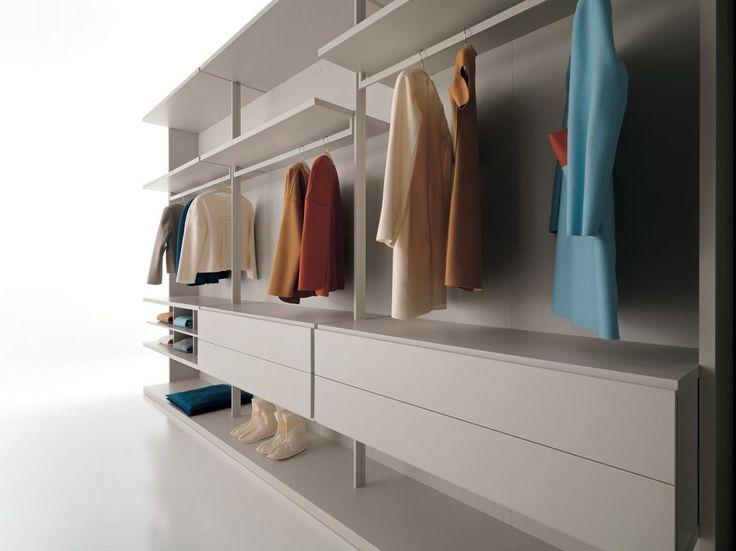 Armario vestidor composable CABINA DR by Caccaro diseño Sandi Renko, R
