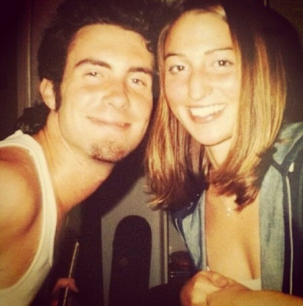 "Her college buddy Adam Levine helped launch her career. | 14 Reasons Sara Bareilles Deserves To Win ""Album Of The Year"""