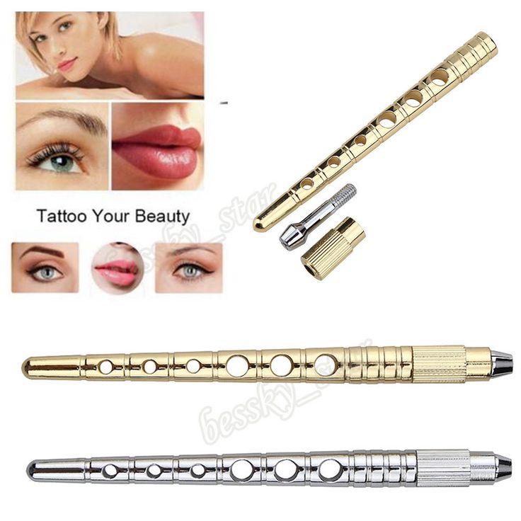 Pro Microblading Blade Tattoo Machine Permanent Makeup Eyebrow Tattoo Manual Pen #bessky_star