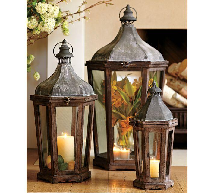Hanging Candle Lanterns Flower Tower Lantern Wedding: 17 Best Ideas About Decorative Lanterns On Pinterest