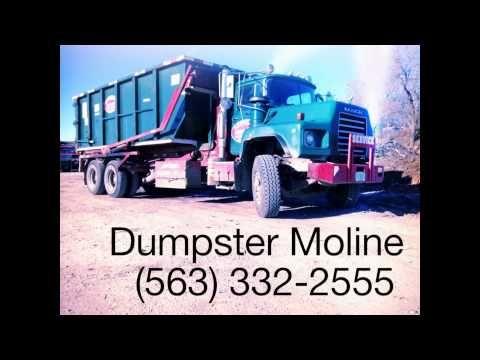 (563) 332-2555 Bettendorf, Iowa waste management dumpster rental