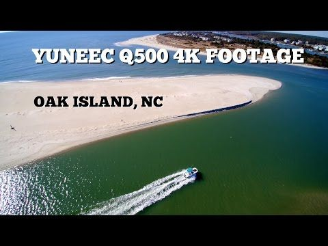 Yuneec Q500 4K Footage ~ Oak Island, NC - YouTube