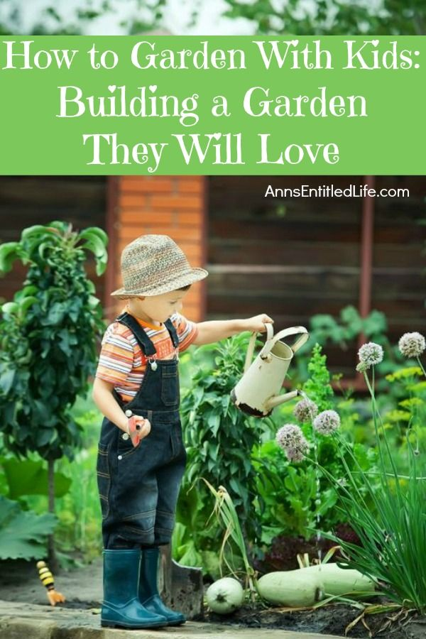 How To Garden With Kids: Building A Garden They Will Love. How To Plant