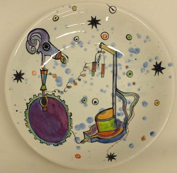 Vanessa Anastasopoulou, ''The Lab', 36X6cm bowl '