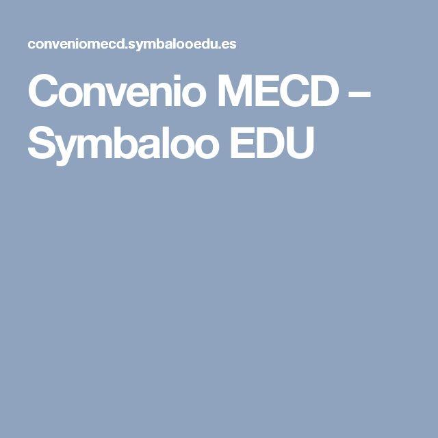 Convenio MECD – Symbaloo EDU