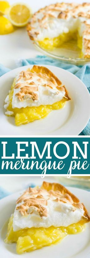No matter how many lemon meringue pies I try, this will remain the best recipe for lemon meringue pie. A delicious homemade lemon filling bursting with fresh lemon flavor is topped with a fluffy meringue topping that everyone loves! | The Love Nerds #meringuerecipe #lemonpiefillingrecipe #lemonpierecipe via @lovenerdmaggie