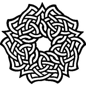 free celtic symbols coloring pages | 26 best images about Coloring pages on Pinterest ...