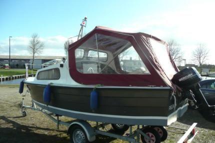 Mayland Fisherman 16,Kajütboot,Angelboot,Motorboot in Kreis Pinneberg - Uetersen | Gebrauchte Boote und Bootszubehör | eBay Kleinanzeigen