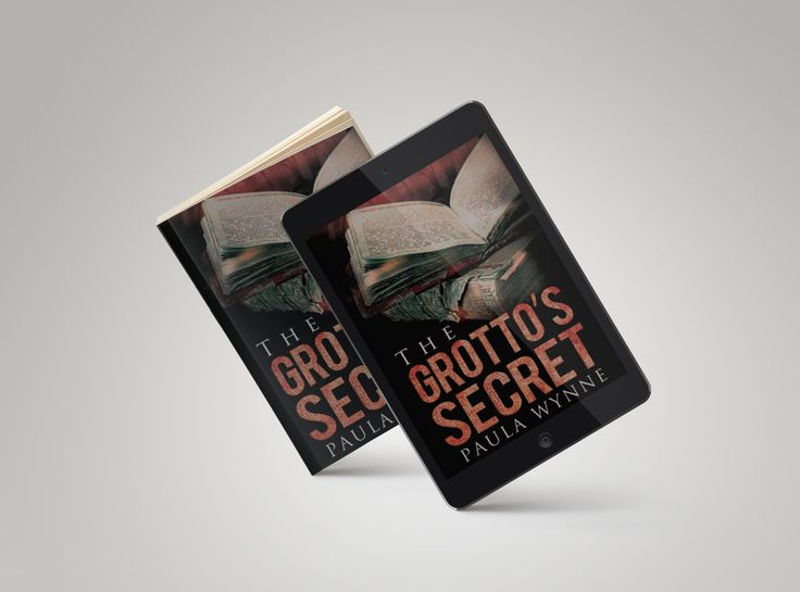 This is so exciting to see the paperback and eBook together of The Grotto's Secret