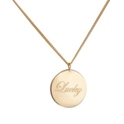 Laura Lee Lucky Pendant.  I have to get one of these, just love Laura Lee jewellery.