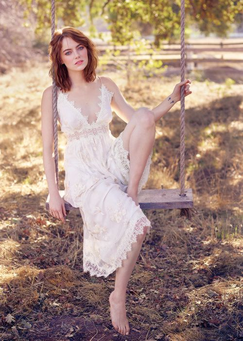 Emma Stone photographed by Mark Seliger for Rolling Stone