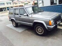 1991 #Jeep #Cherokee #4x4 6 cylinder #police #impound #car 1650.    4159876706