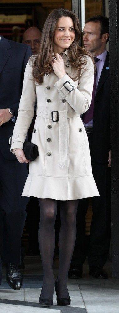 Kate Middleton - great coat
