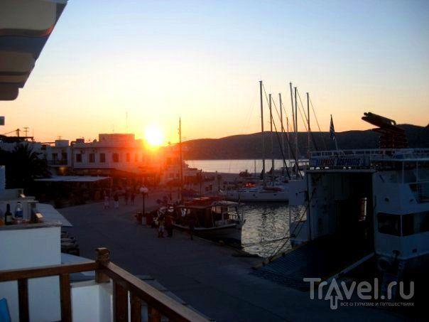 Греческие острова - Китнос, Серифос и Аморгос