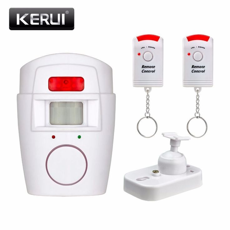 Home Security PIR MP Alert Infrared Sensor Anti-theft Motion Detector Alarm Monitor Wireless Alarm system+2 remote controller #homesecuritysystemproducts