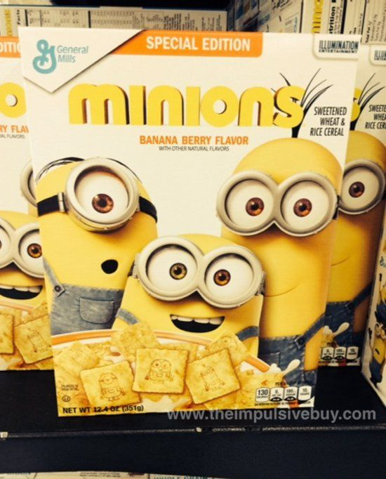 SPOTTED ON SHELVES: General Mills Special Edition Minions Cereal | The Impulsive Buy