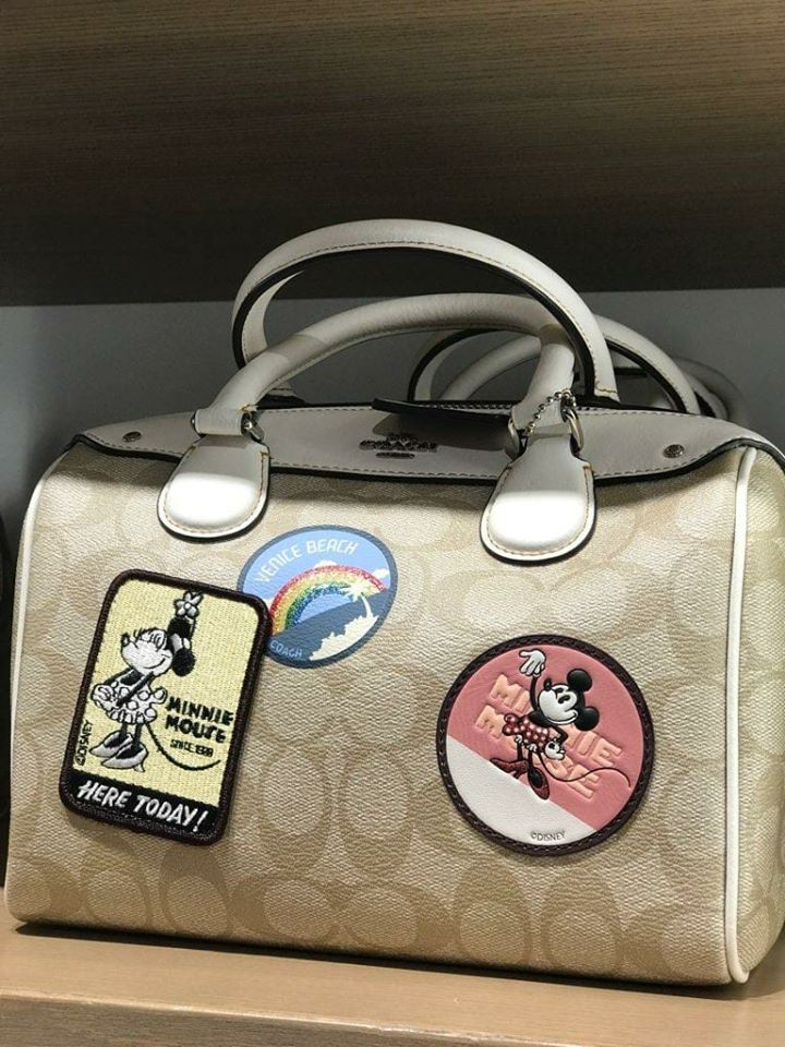 95da6b5ef3 The Disney x Coach Minnie Mouse Outlet Release Is Today Not the 15th ...