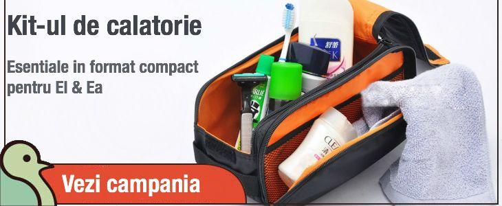 Kit-ul de calatorie. Esentiale in format compact pentru El & Ea! http://goo.gl/YJbyc3
