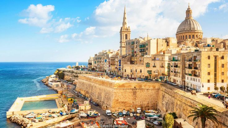 Malta's laidback culture is perfect for expats looking for a slower pace (Credit: Credit: eye35.pix/Alamy)