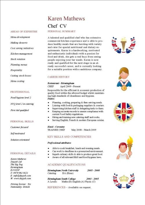 17 Best Ideas About Cv Examples On Pinterest | Simple Resume